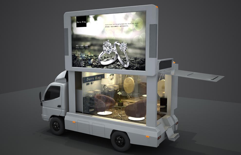 奢侈品行业营销操作技巧 - LED广告车做宣传